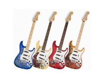 Nuevas guitarras edición especial David Lozeau Art Stratocaster de Fender