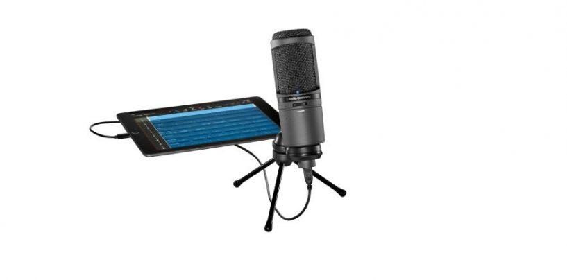 El micrófono AT2020USBi es lo nuevo de Audio-Technica