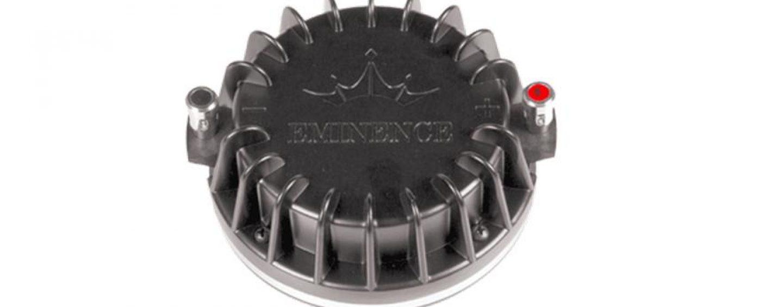 Eminence presenta el N314T-8 y N320T-8, sus nuevos drivers de compresión