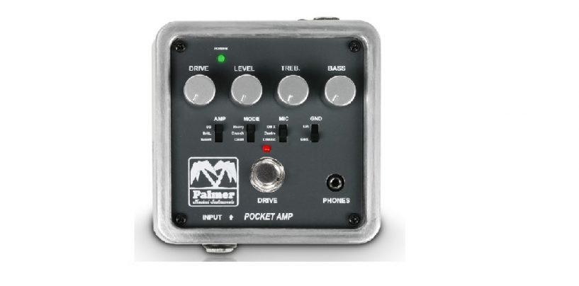 Nuevo amplificador Pocket Amp de Palmer