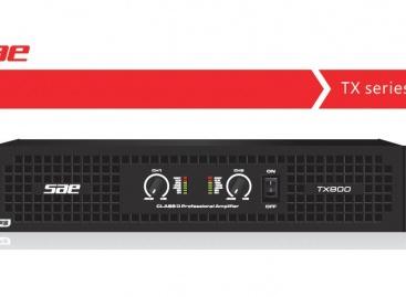 Los amplificadores TX son la serie más reciente de SAE Audio