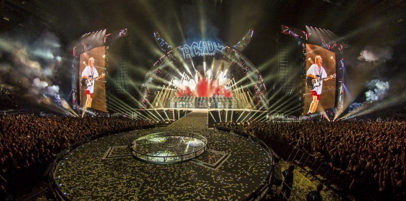 """grandMA2 de gira con AC/DC en su """"Rock or Burst"""" tour"""