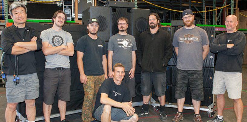 Adamson y Sound Image se preparan para la gira de Imagine Dragons