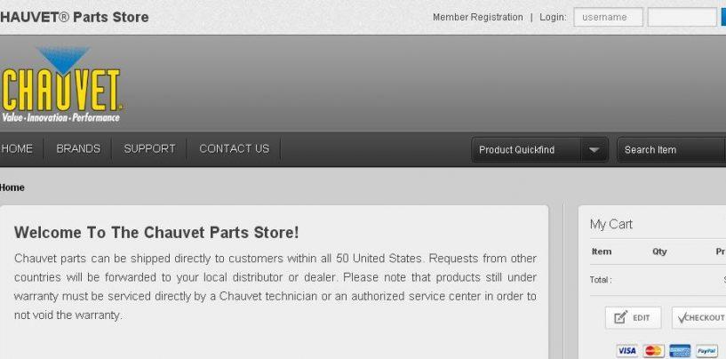 Ya abrió la Chauvet Parts Store