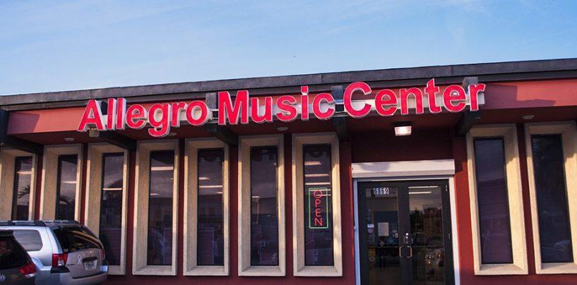 Allegro Music Center con venta desde Miami