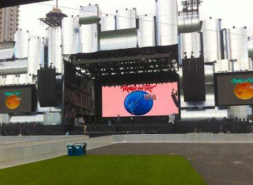Gabisom Audio proporcionó el audio para Rock in Rio USA