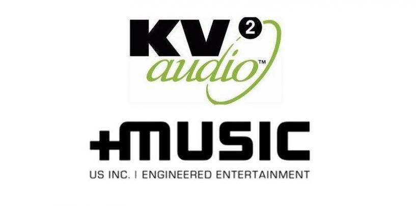 KV2 Audio tiene un nuevo distribuidor en PLUSMUSIC US Inc