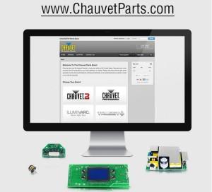ULTIMAS.Chauvet parts store
