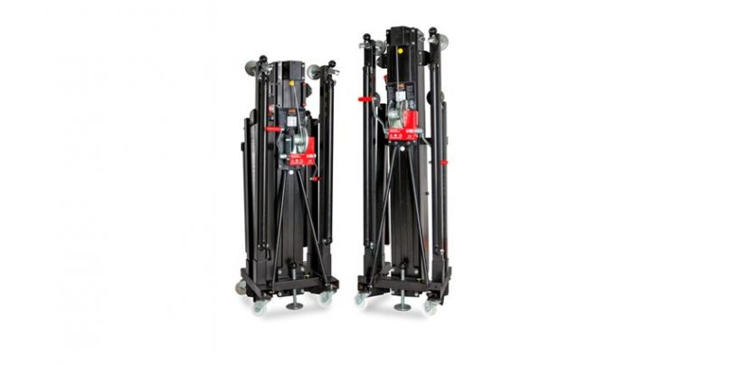 VMB lanza dos nuevos elevadores TL-A400 y TL-A500 para line arrays
