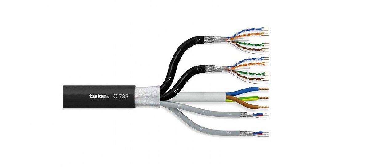 Tasker presenta el cable híbrido C733