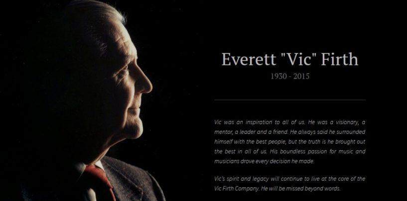 Vic Firth: Falleció su fundador