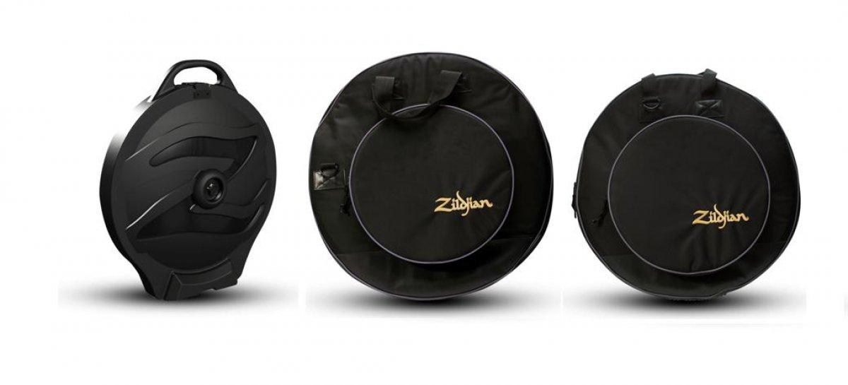 Nuevos estuche Rolling Cymbal Vault y bolsos Premium Cymbal de Zildjian