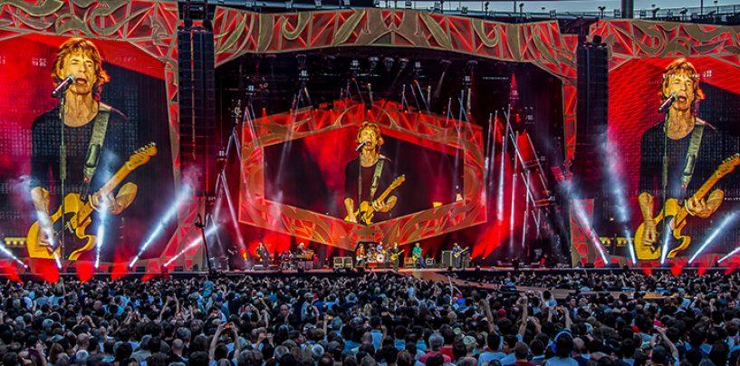 Clay Paky de gira con The Rolling Stones