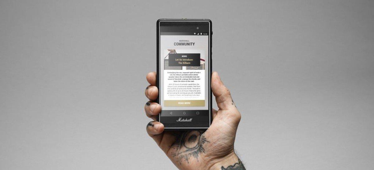 Marshall lanza smartphone Marshall London
