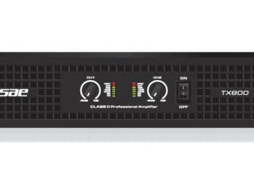 La serie TX de amplificadores de SAE Audio ya está disponible