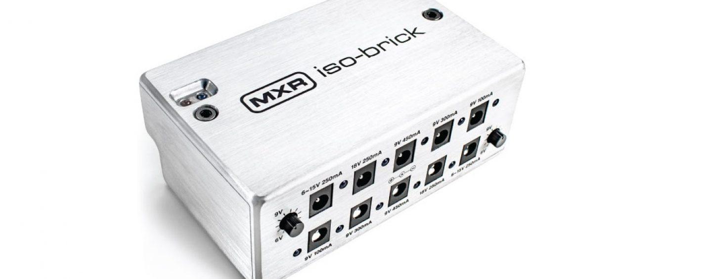 Nueva pedalera MXR iso-brick de Dunlop
