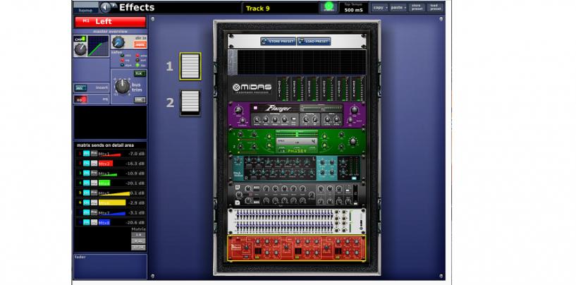 Midas lanza nuevo firmware para consola PRO1 y PRO2