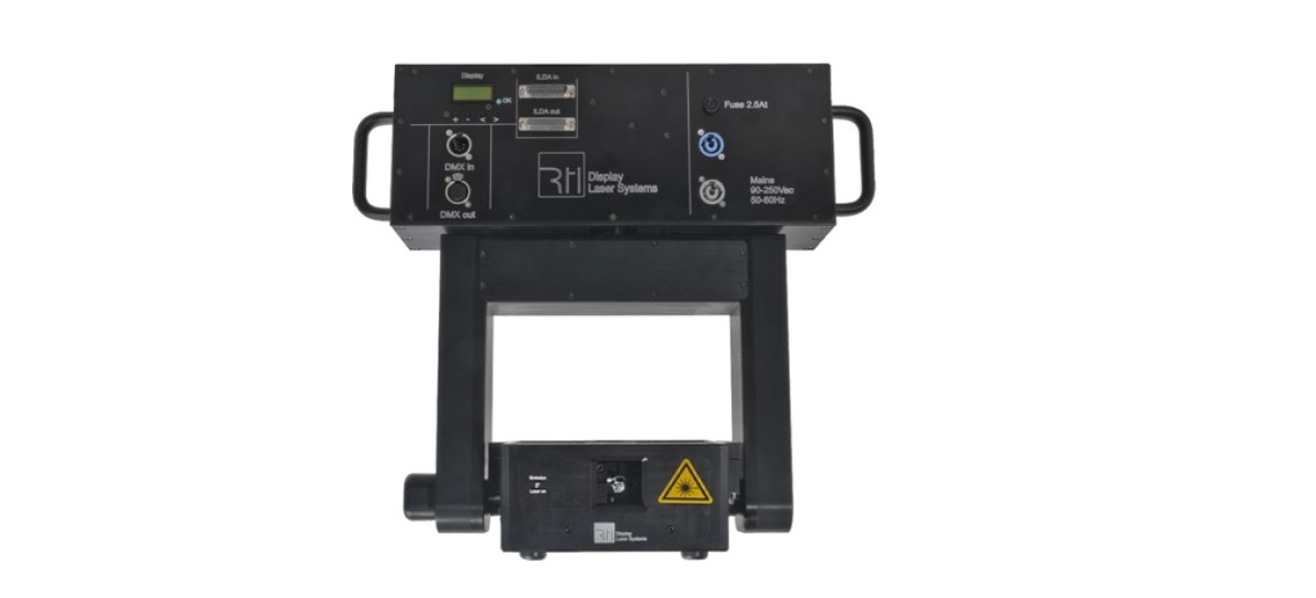 Laserworld presenta el láser de cabezal móvil RTI VELOX