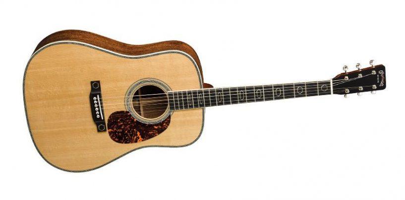 Nueva guitarra HD-35 CFM IV 60th de Martin Guitar