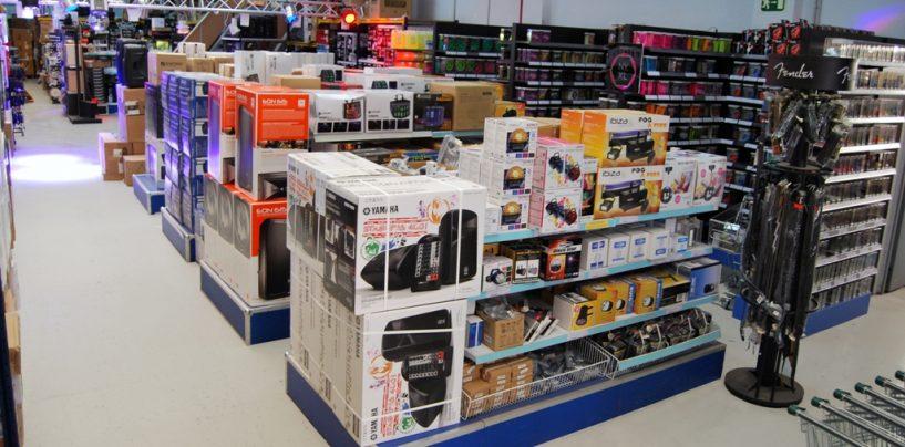 Instrumentos, audio e iluminación disponibles en Alfasoni