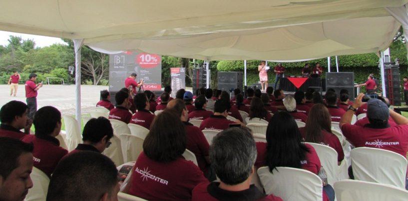 Seminario de Audiocenter en Ecuador