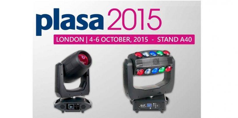 Elation lanzará nuevos productos en PLASA 2015