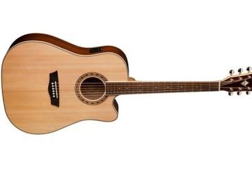 La guitarra WD10SCE también es parte de la Heritage 10 Series de Washburn