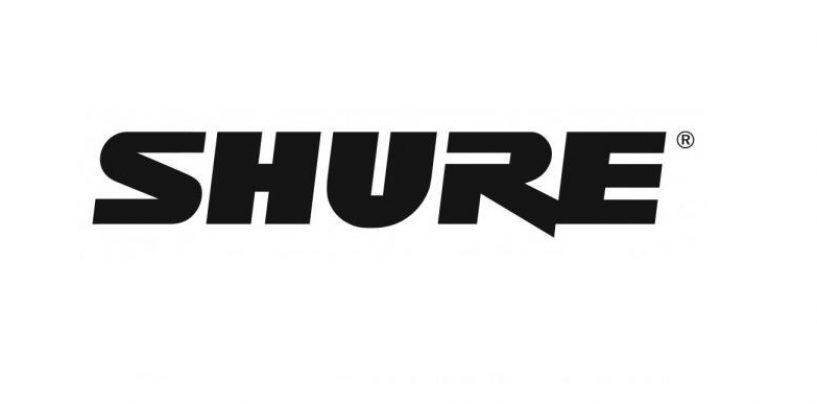 Shure anuncia nuevos planes para Brasil