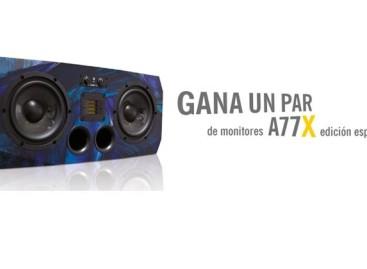 Gane un par de monitores A77X edición especial de ADAM Audio
