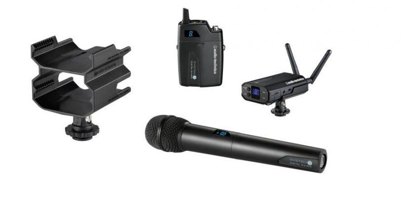 El sistema inalámbrico System 10 de Audio-Technica cuenta con nuevos accesorios