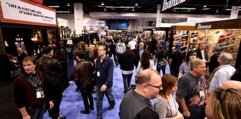 NAMM Show 2016 se prepara para una gran presencia mundial