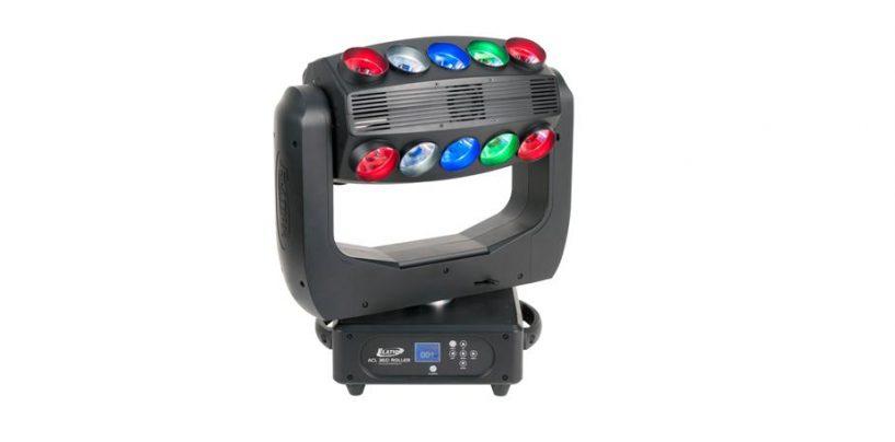 Conociendo la luminaria ACL 360 Roller de Elation