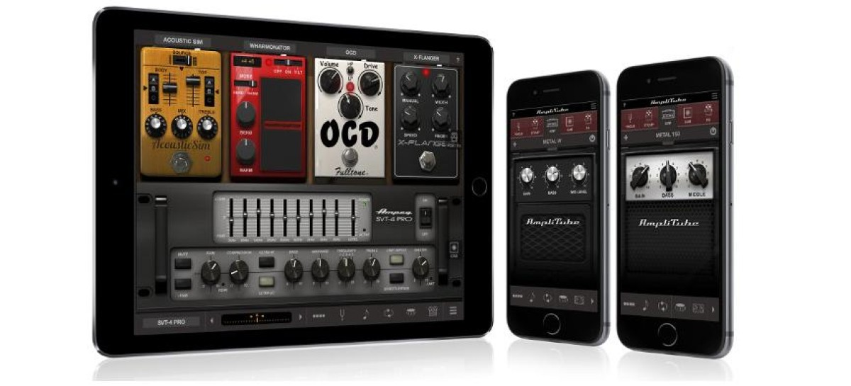 Disponible última versión de AmpliTube de IK para iPhone e iPad