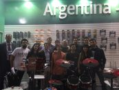 Fabricantes argentinos estuvieron presentes en Expomusic Brasil