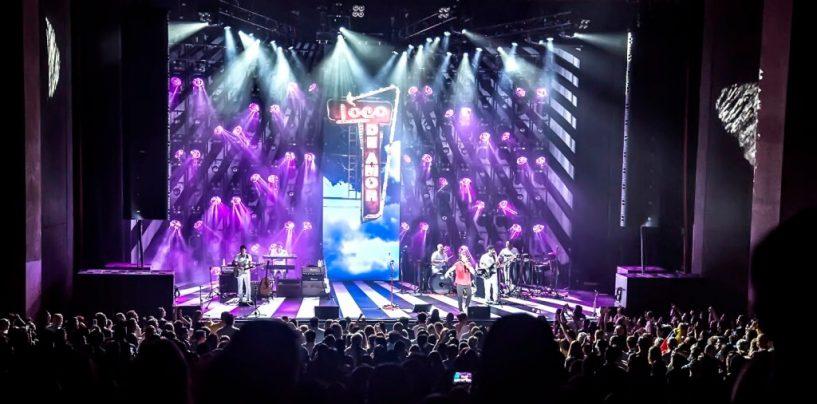 Los módulos EAW Anya respaldaron la gira Loco de Amor de Juanes