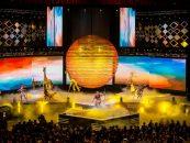 Robe iluminó los premios Lunas Del Auditorio