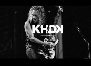 Kirk Hammett revela su línea de pedales KHDK con EMG
