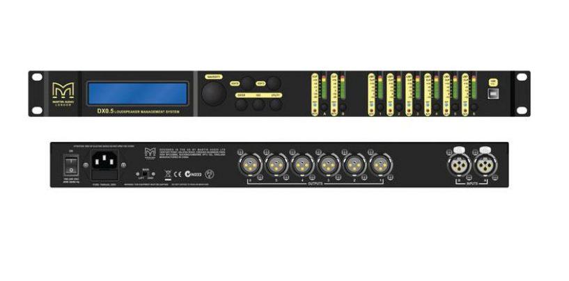 Martin Audio DX0.5 actualiza el software del controlador