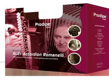 Prodipe presenta el nuevo micrófono AL21 Romanelli Accordion