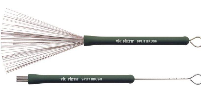 Vic Firth trajo este año el Split Brush