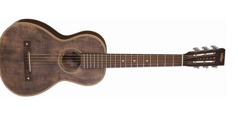 La guitarra Paul Brett Viator de Vintage obtiene actualización USB