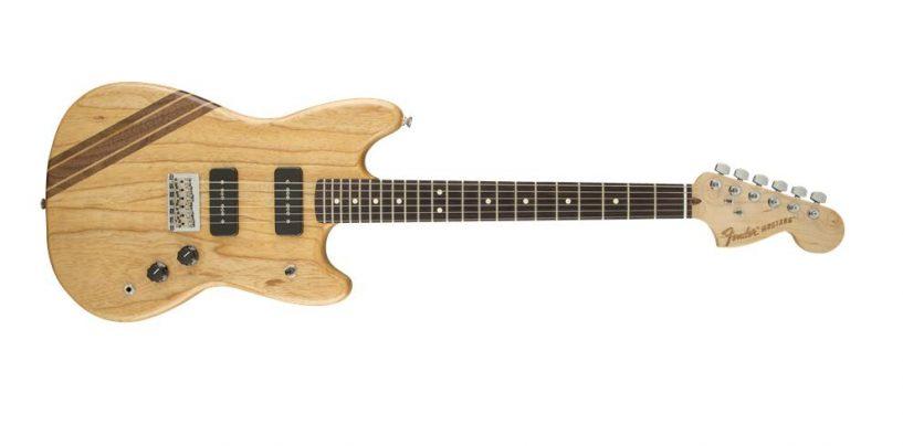Fender presenta la guitarra American Shortboard Mustang