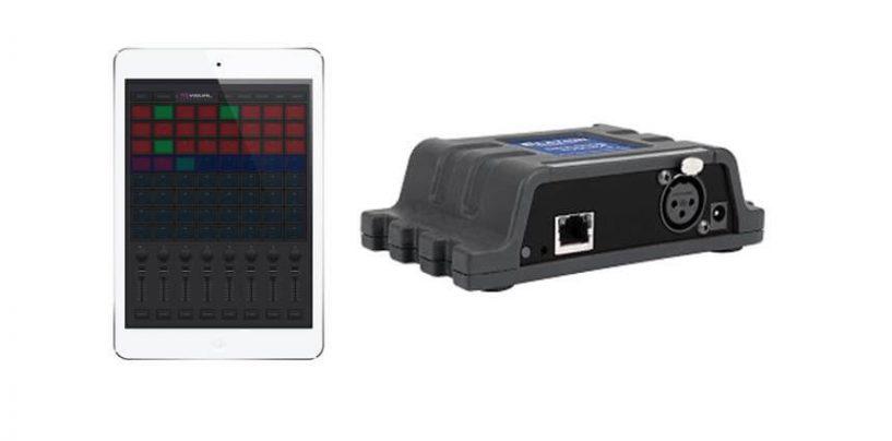 Elation Emulation Touch transforma su tablet en una consola de iluminación