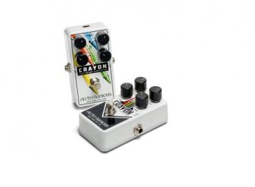 El pedal Crayon es la nueva gama de pedal overdrive de Electro-Harmonix