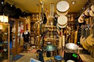 Raros en percusión, cuerda y viento