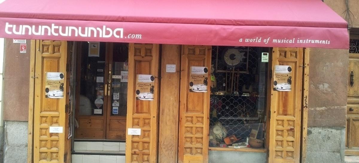 La exótica tienda de instrumentos Tununtunumba