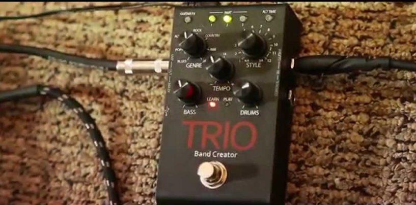 El poder de tres en uno solo con el nuevo pedal DigiTech TRIO