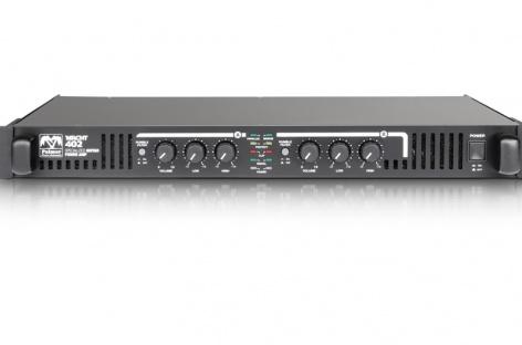 Ya llegó el amplificador Macht 402 de Palmer