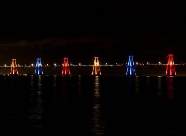 W-DMX y Varonaleds iluminan al icónico puente de Maracaibo
