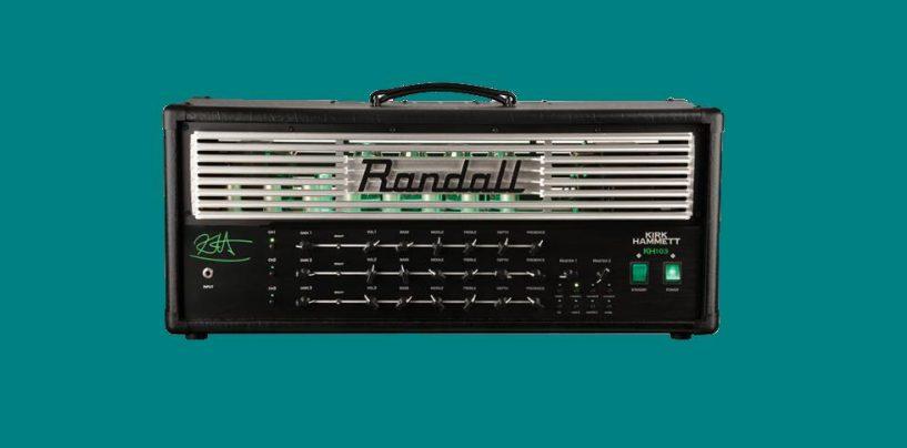 Randall trae el amplificador KH103 Kirk Hammett Signature
